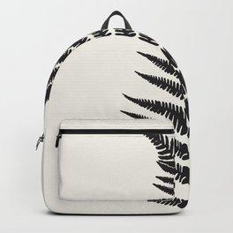 Minimal Fern Leaf Backpack