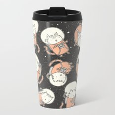 Cat-Stronauts Metal Travel Mug
