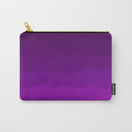 Ultra Violet Waves - Rich Purple Gradient Carry-All Pouch