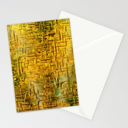 Golden Dreams Stationery Cards