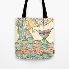 Hundertwasser's last voyage Tote Bag