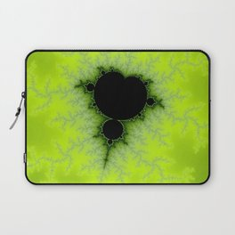 Fractal Mandelbrot Green Laptop Sleeve