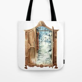 Narnia Wardrobe Tote Bag