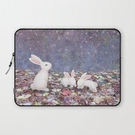 bunnies under the stars Laptop Sleeve
