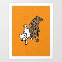 Brewer and Harvey Art Print
