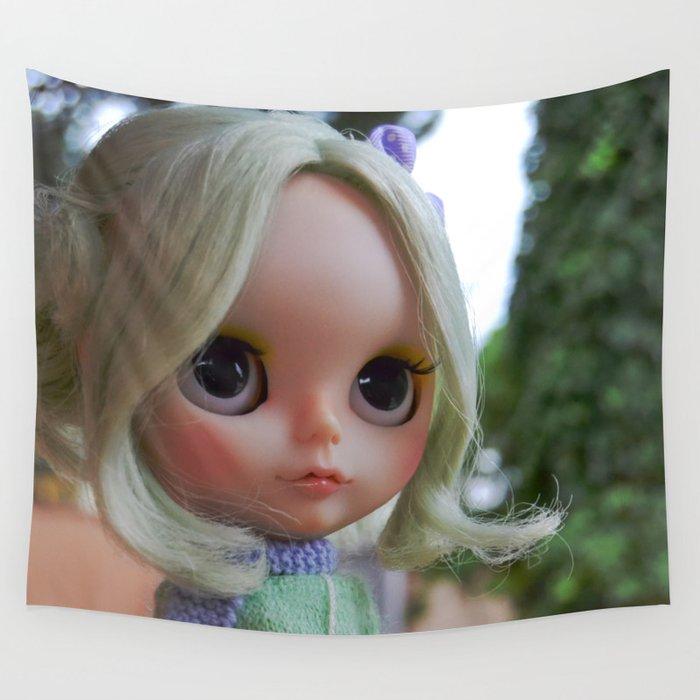 Miau - Blythe doll #17 Wall Tapestry