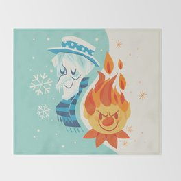 The Miser Brothers Throw Blanket