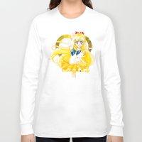 sailor venus Long Sleeve T-shirts featuring Eternal Sailor Venus by Yue Graphic Design