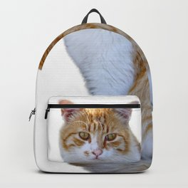 red cat Backpack