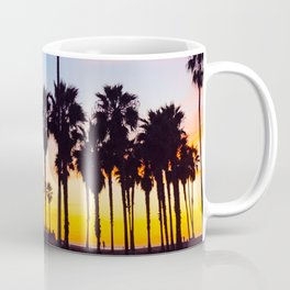 Venice Beach at Sunset Coffee Mug