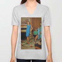 Aunt Sadie's fashion conscious group Unisex V-Neck