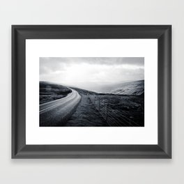 Sunbreak over Dale Framed Art Print