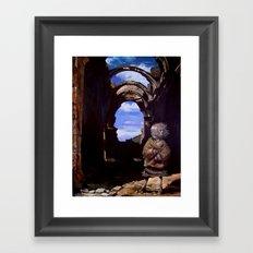 Lluvia Framed Art Print