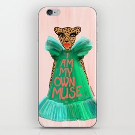 I Am My Own Muse iPhone Skin