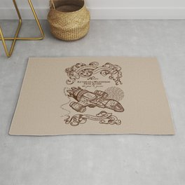 The Smuggler's Map Rug