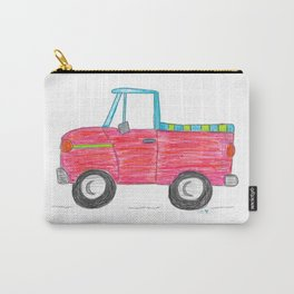 Rad Red Truck Carry-All Pouch
