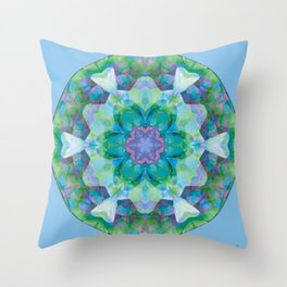 Mandalas of Healing and Awakening 10 Throw Pillow