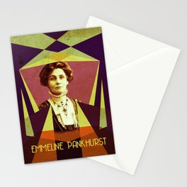 Emmeline Pankhurst Portrait Stationery Cards