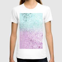 Mermaid Lady Glitter #2 #decor #art #society6 T-shirt