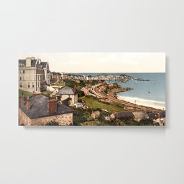 St. Ives, Porthminster Bay, Cornwall, England Metal Print