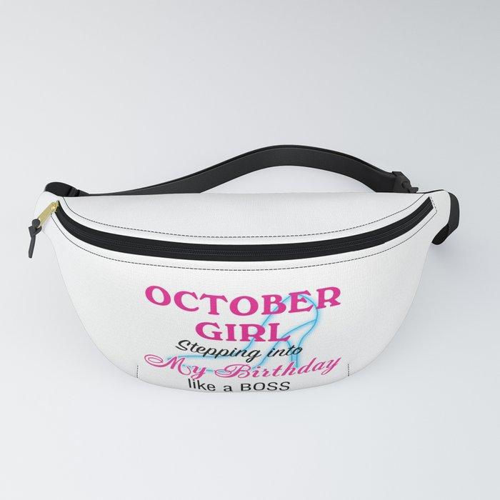 October Girl Birthday Fanny Pack