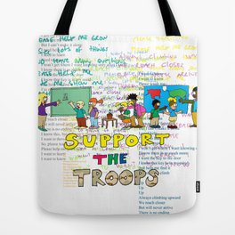 Support the Troops 2 Tote Bag