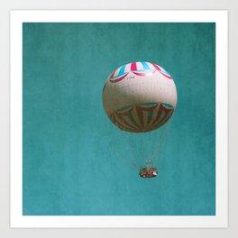 You Blow Me Away - Hot Air Balloon Art Print