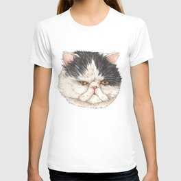 Bacon the Persian - artist Ellie Hoult T-shirt