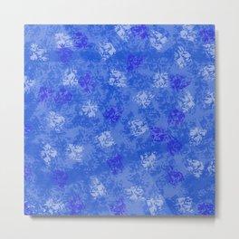 A Blue Winter Wonderland Metal Print