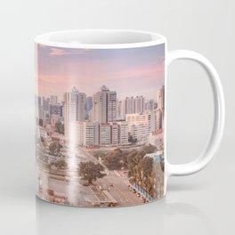 Witnessing sunset at Bugis, Singapore Coffee Mug
