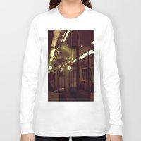 velvet underground Long Sleeve T-shirts featuring Underground by Schwarzingerphotography