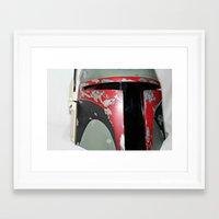 boba fett Framed Art Prints featuring Boba Fett by McKenzie Nickolas