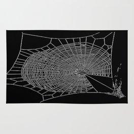 A Large Illustration Of A Spider's Web Rug