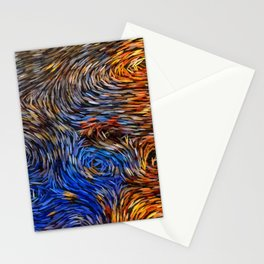 gogh style Stationery Cards