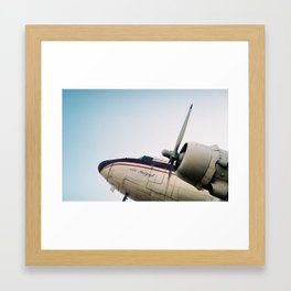 plane Framed Art Print