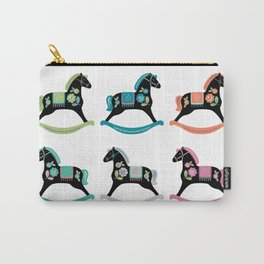 Rocking Horses Carry-All Pouch