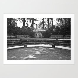 Greek Theatre Art Print