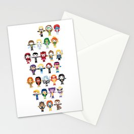 WOMEN WITH 'M' POWER Stationery Cards