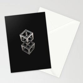 T w o C u b e s Stationery Cards
