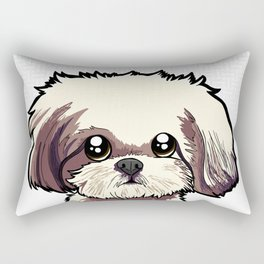 Alice (Shih Tzu) Rectangular Pillow