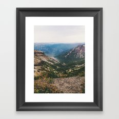 In The Valley Framed Art Print