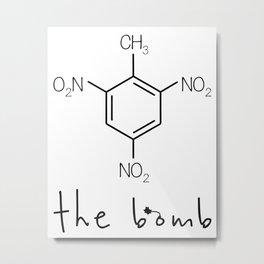 The bomb Metal Print