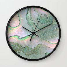 Shell Texture Wall Clock