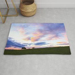 Sonoma County Sunset Rug