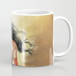 Steampunk WonderWoman Coffee Mug