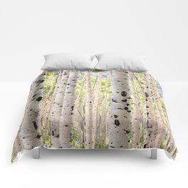 Dreamy Aspen Grove Comforters