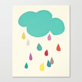 Sunshine and Showers Canvas Print