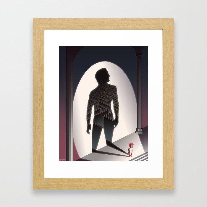 The Little Lion - WORDLESS Framed Art Print