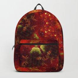 Royal Star Crest Mandala Backpack