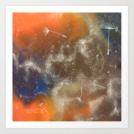 Cosmic seeds Art Print